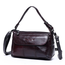 Fashion Mini Genuine Leather Women's Crossbody Shoulder Bags Ladies Cowhide Messenger Bag Cell Phone Pouch Top-handle Handbag