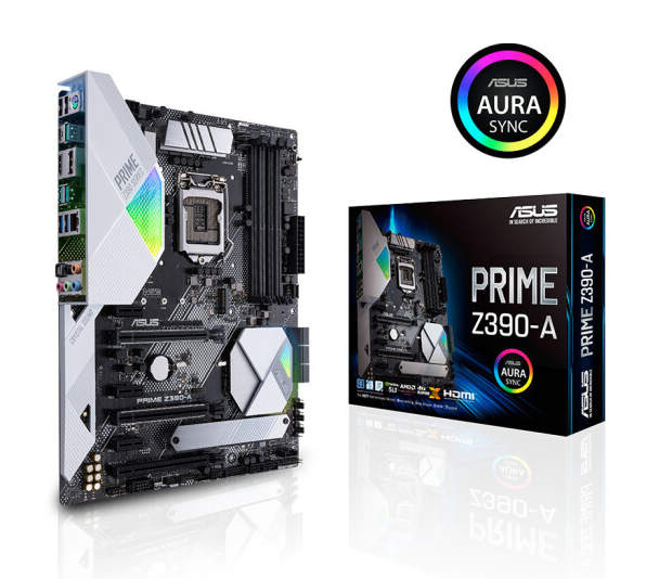 ASUS PRIME Z390-A Computer Desktop Game Board Support 9 Generation CPU Used 95%new