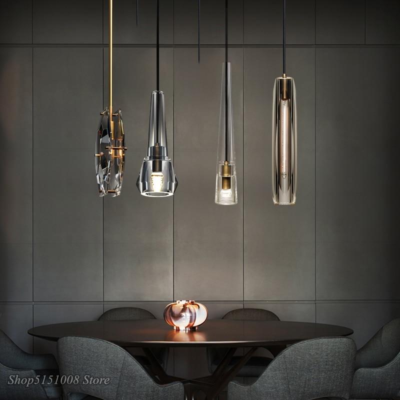 Led Crystal Pendant Lights