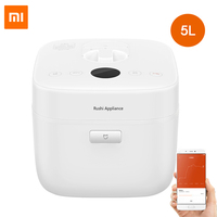 Xiaomi Mijia 5L Smart Electric Rice Cooker Alloy Cast Iron High Pressure Cooker App Remote Control Multicooker Smartpot Cook Pot