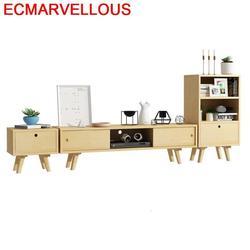Kast LED Mueble untuk Mesa Meubel Lemari Tele Lift Kayu Eropa Monitor Stand Perabot Ruang Keluarga Tabel Meuble TV Cabinet