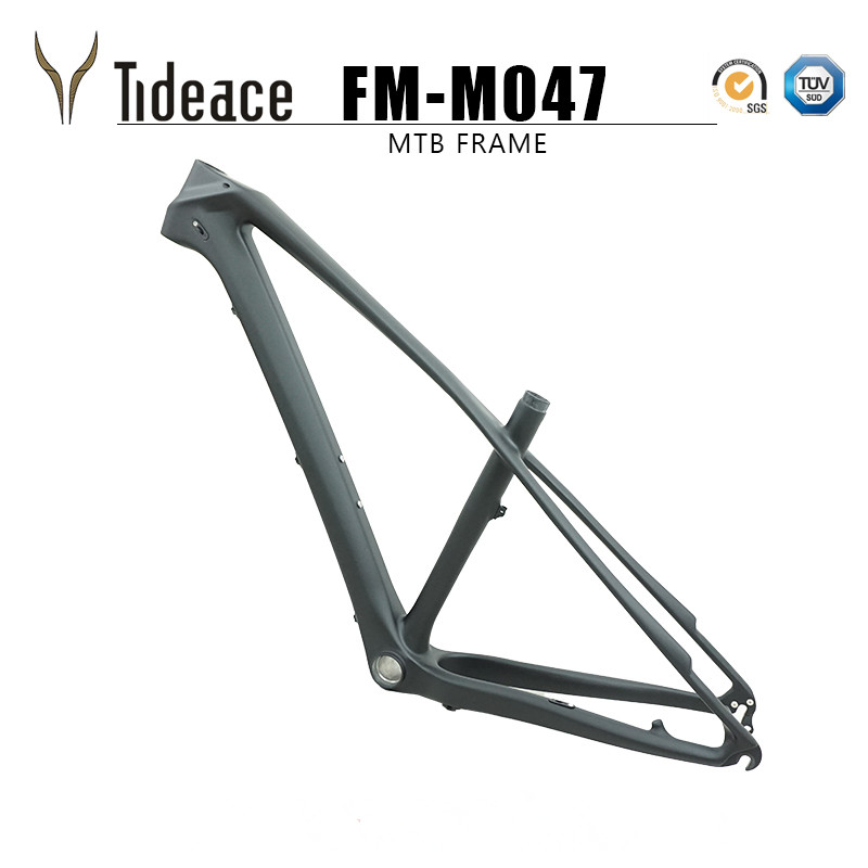 135*9mm 27.5er Carbon Fiber Bicycle Frame Chinese MTB Carbon Frame 27.5 Carbon Mountain Bike Frame Disc Brake MAX 2.3 Tires