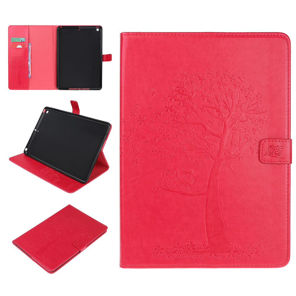Case Khaki Case For iPad 10 2 inch 2019 Stand Auto Sleep Smart Folio PU Leather Cover For