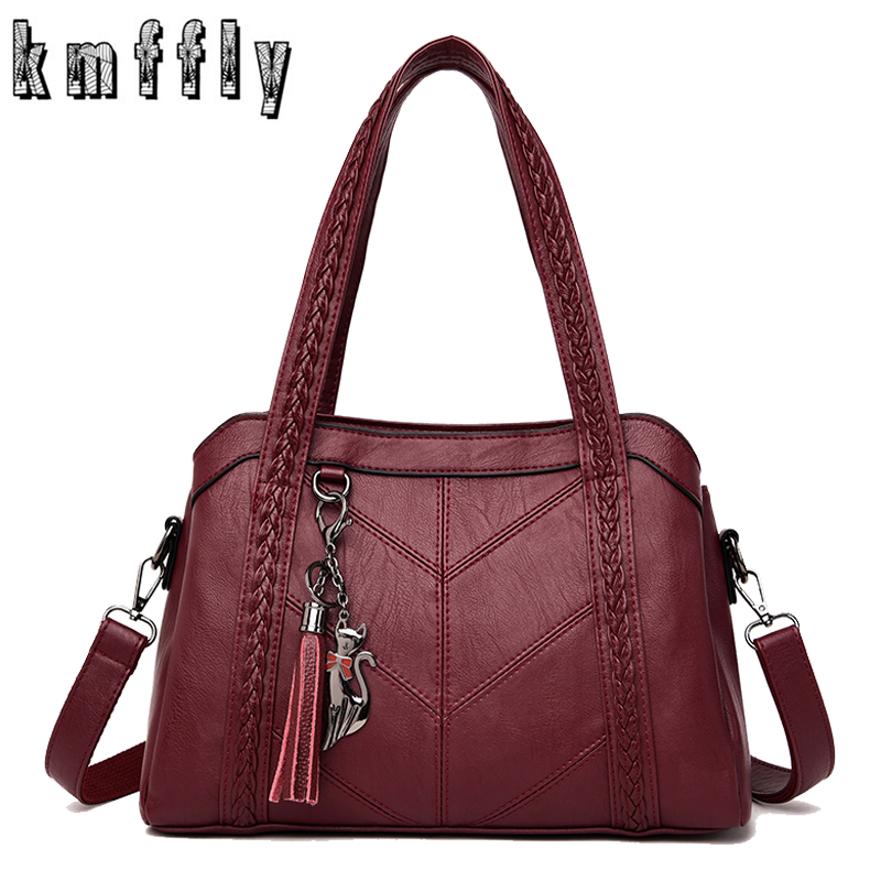 Hot Handbags Women Luxury Handbags Women Bags Designer High Quality Leather Messenger Bags For Women 2019 Lady Shoulder Bag