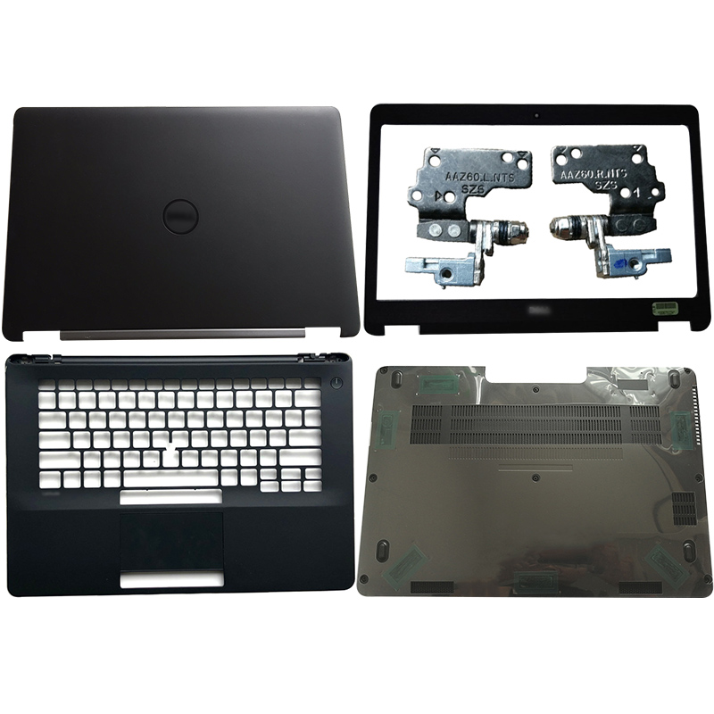 New Laptop LCD Back Cover/Front Bezel/Hinges/Palmrest/Bottom Case For DELL Latitude E7470 NO-Touch 0FVX0Y FVX0Y