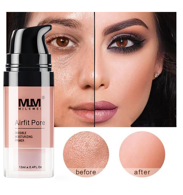 Magic Invisible Pore podkład do makijażu pory znikają Face W Airfit Pore Primer zawiera witaminę A, C, E dla optymalnego zdrowia skóry 1