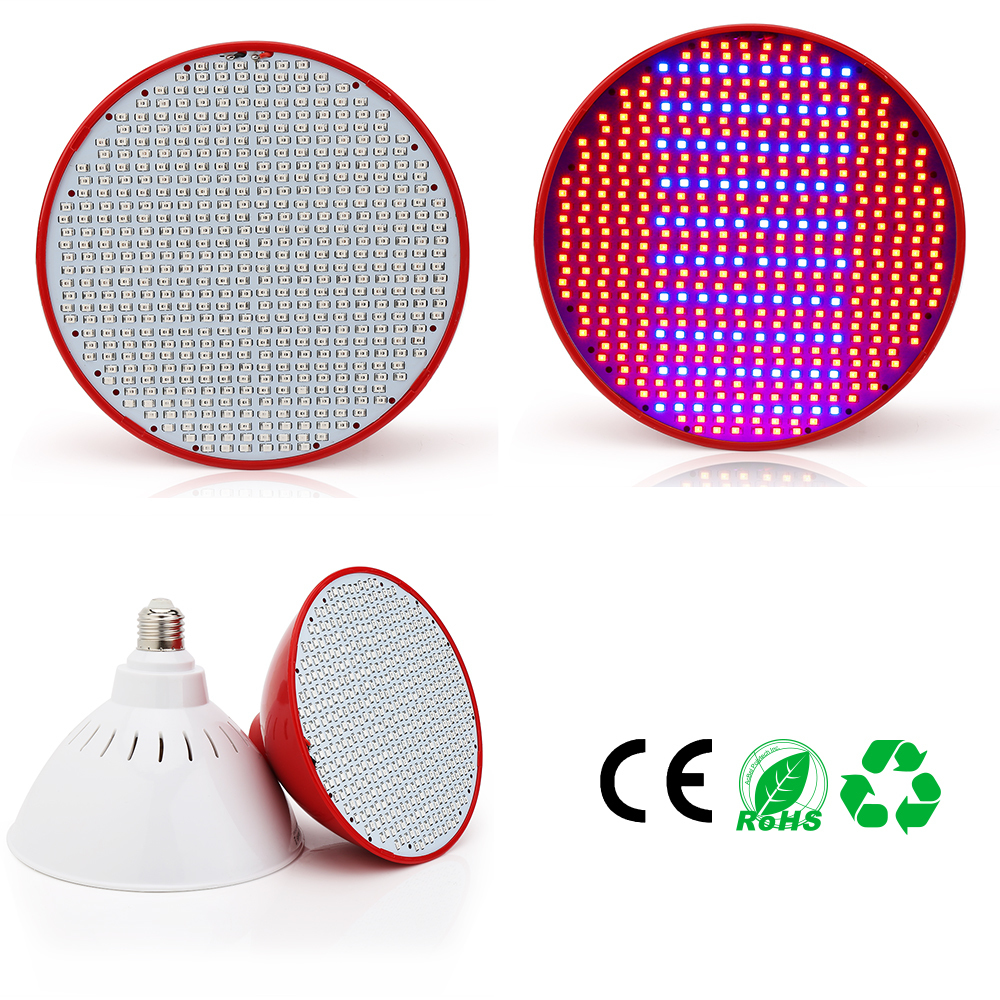 50W E27 LED Grow Light Plant Growth Lamp Red+Blue Led Bulb For Flower Seedlings Aquarium Indoor Plants Plant Lamp Led Plant