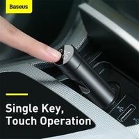 Baseus FM Transmitter Bluetooth Car Modulator Handsfree Car Audio Receiver 18W 2 USB Fast Charger Adapter Aux MP3 Radio Player