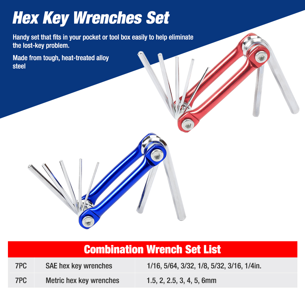 Купить с кэшбэком WORKPRO 164PC Sockets Set Mechanic Tool Set Car Repair Tools Wrenches Screwdrivers Ratchet Combination Tool Kits Hex Key
