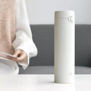 Image 4 - Orijinal Xiao mi mi ev termos bardak 2 paslanmaz çelik vakum 480ml kapasiteli seyahat taşınabilir su bardağı yalıtım kilidi 0306 #
