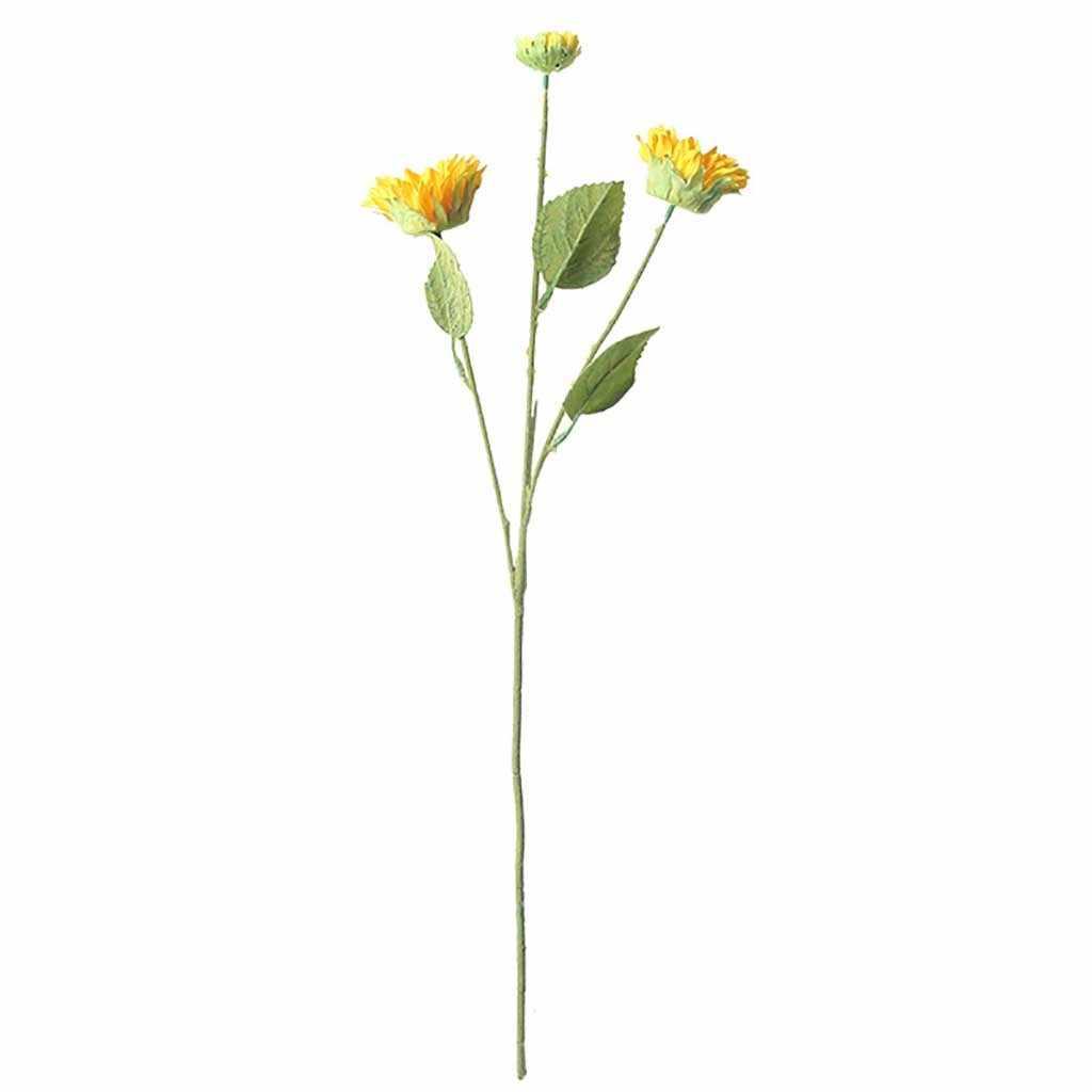 Fake Bunga Bunga Matahari Buatan Palsu Bunga Tanaman Floral Pernikahan Dekorasi Rumah Bunga Dekorasi Rumah Bunga Buatan