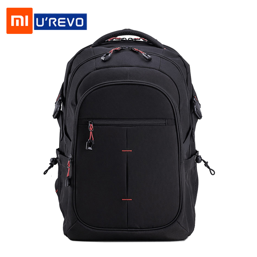 Xiaomi UREVO Large Capacity Multi-function Backpack Men's 15inch Computer Bag Waterproof Travel Bag  25L Large Capacity Backpack