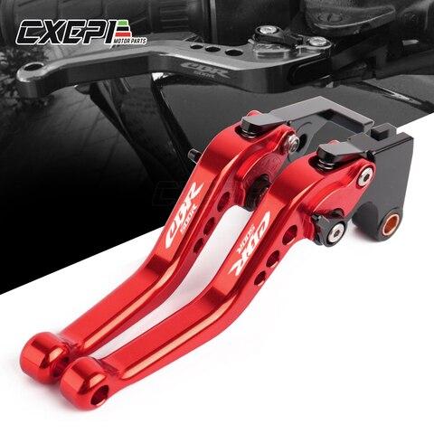 alavancas de freio para motocicleta alavancas de embreagem e freio curto de aluminio para honda