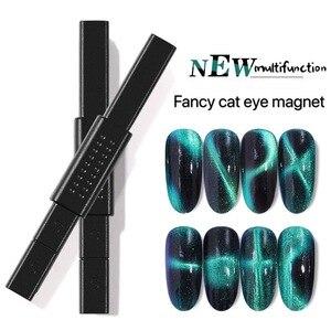 3D Магнитная палочка для ногтей, сильные магнитные лаки для ногтей, кошачьи глаза, эффект УФ-гель-лака, сделай сам, дизайн, Маникюрный Инструм...