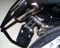 Lizenz platte halterung für BMW F650GS/DAKAR  2001 2007 G650GS/Sertao  2009 auf-in Kfz-Kennzeichen aus Kraftfahrzeuge und Motorräder bei