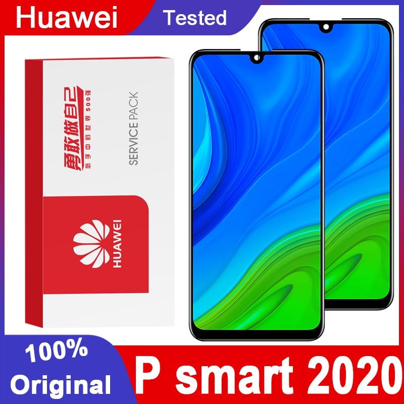 Оригинальный 6,1 дюймовый IPS-дисплей для Huawei P Smart 2020, ЖК-дисплей с сенсорным экраном и дигитайзером в сборе для P Smart 2020 POT-LX1A, ЖК-дисплей