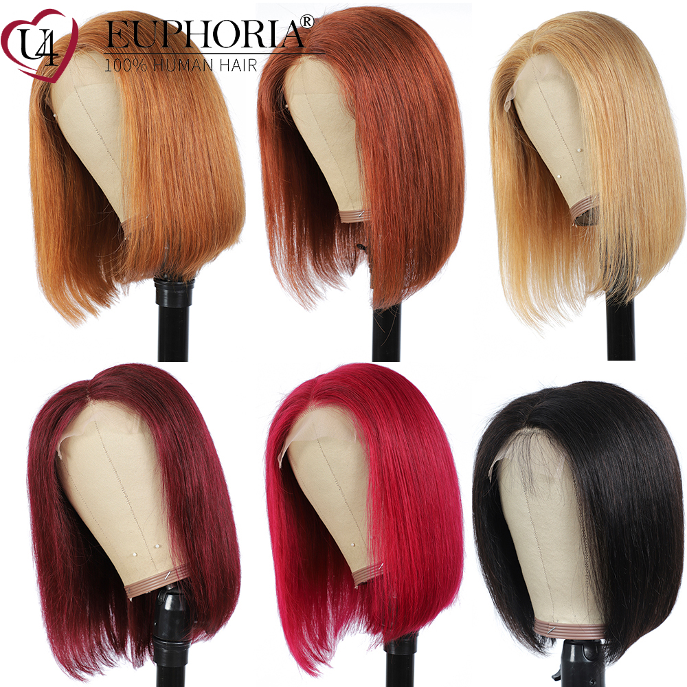 cabelo humano reto perucas de fechamento 04