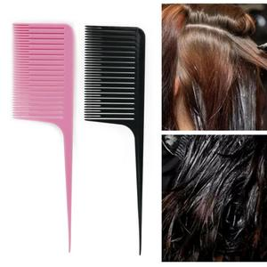 1PC Profession Dyeing Comb Weave Comb Tail Pro-hair Dyeing Comb Weaving Cutting Combs Hair Brush for Hairdressing Salon(China)