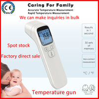 infrared digital thermometer lcd probe mini portable industrial cheap baby temperature humidity sensor forehead infrarojo adult