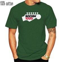 Foo fighter rockin 1000 aprender a voar preto camiseta S-5XL moda clássico camiseta