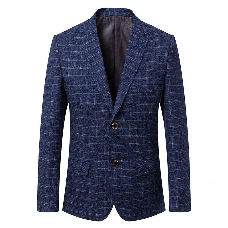 Гладкие лезвия Мужчины носить броню тела и Тонкий Блейзер Куртка для двух человек двери весной - 2