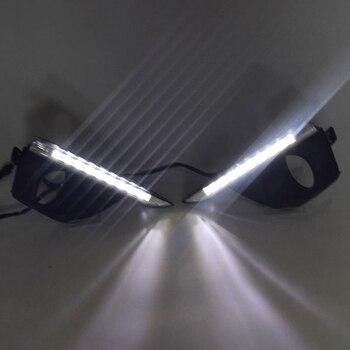 Day Light 12V LED DRL Daytime Running Light for Renault Koleos 2011 2012 2013 2014 Daylight Waterproof Signal Styling Lights