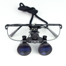 Loupe dentaire binoculaire 2.5X 3.5X Loupe chirurgicale opération médicale