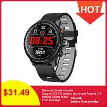 L5 Smart Watch Men IP68 Waterproof Reloj Mode SmartWatch With ECG PPG