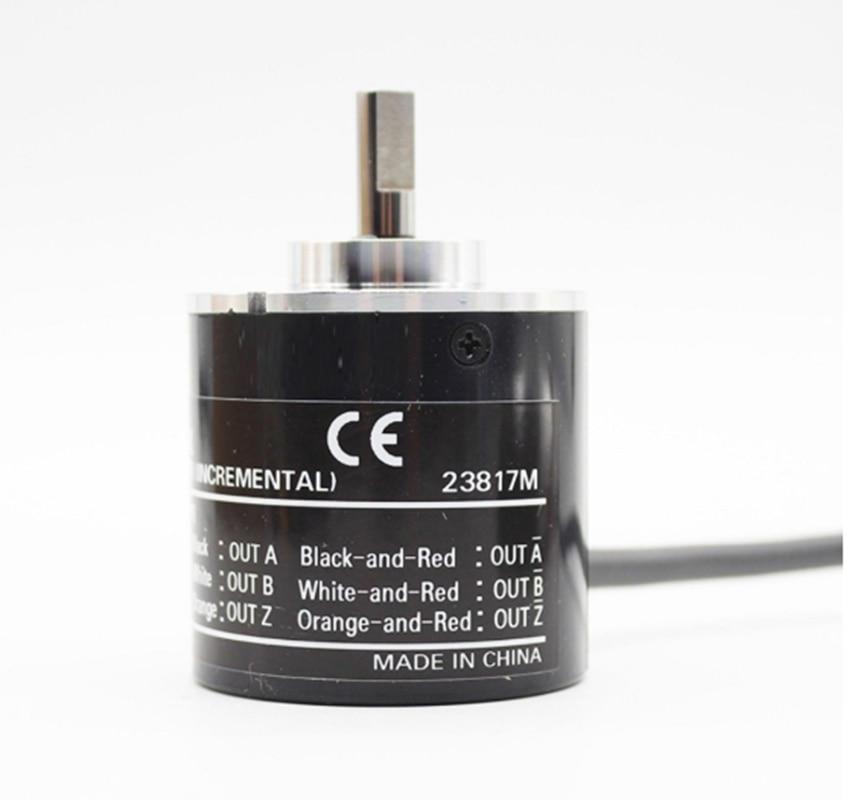 E6B2CWZ1X enkoder obrotowy E6B2-CWZ1X Omron wyjście PNP przełącznik obrotowy 2500 2000 1200 1024 1000 600 500 400 360 300 200 100 60 P/R