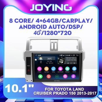 Car No DVD Player for Toyota Land Cruiser Prado 150 2013 2014 2015 2016 2017 IPS Single 1 din Android Car Audio Multimedia Playe
