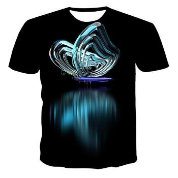 2020 The new fashion 3D T-shirt short sleeve mens summer top animal print 3DT shirt clothing