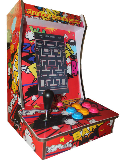 *New* Pac-Man Upright Bartop//Tabletop Arcade Machine With 412 Classic Games