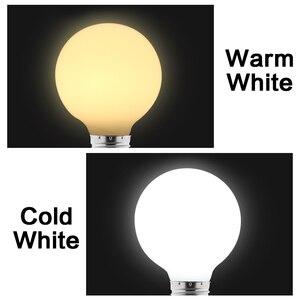 Image 3 - 밀키 LED 전구 E27 220V 110V Lampara G80 G95 G125 Ampoule Bombilla LED 램프 전구 차가운 흰색 따뜻한 화이트 펜 던 트 램프