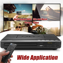 Multi Portable DVD Player EVD Player Region ADH VCD Music Dis Player Home Theatre System With Romote Control VCD Player SD Card