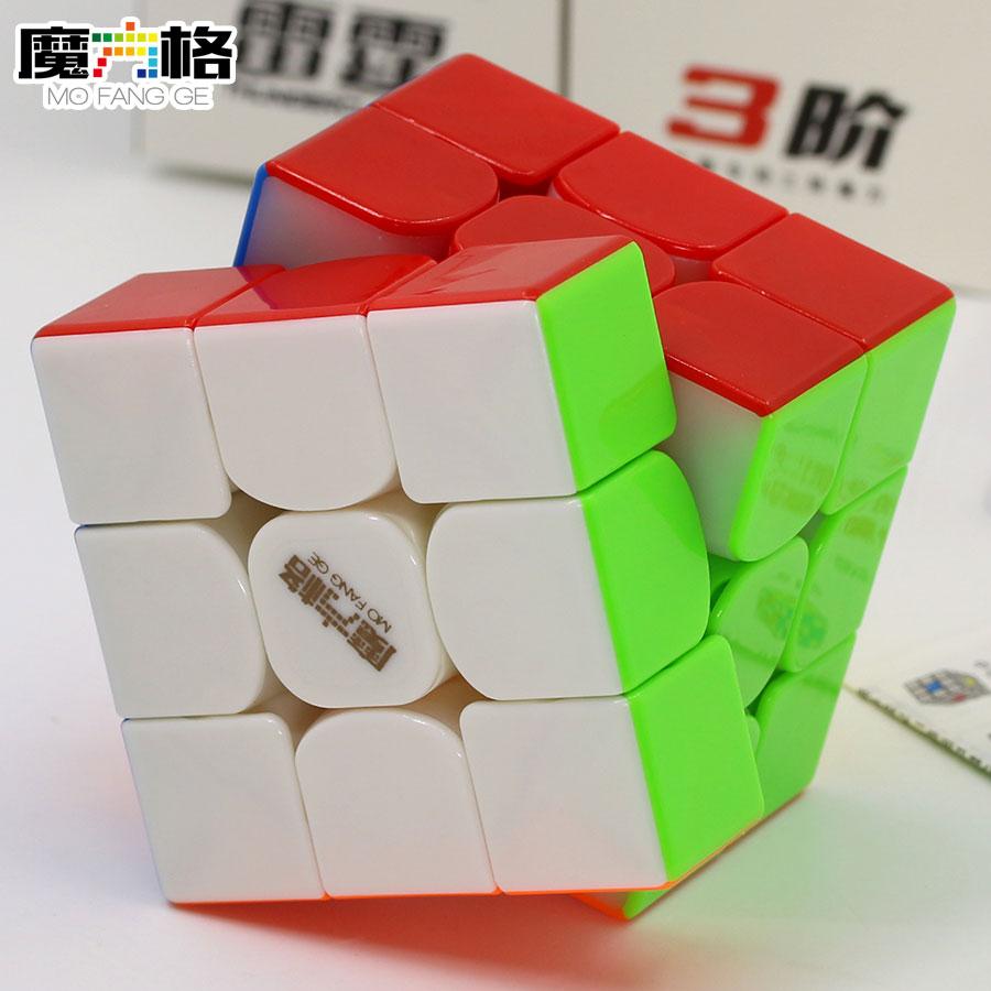 Magic Cube Puzzle QiYi XMD MoFangGe 3x3x3 3x3 Thunderclap V3 Magnetic Magnet Professional Speed Cube Educational Toys Game