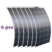 RG 2PCS 4PCS 6PCS 100w Flexible Solar Panels 100W Monocrystalline Solar Cell Flexible