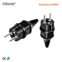 цена на EU General Industrial Power Plug Russian Waterproof Adapter Converter Socket Wiring AC Power Plug 250V 16A