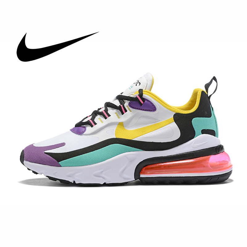 meilleur service d9732 d3772 € 54.8 32% de réduction Nike Air Max 270 réagir chaussures de course pour  les femmes Sports de plein Air baskets Designer chaussures d'athlétisme ...