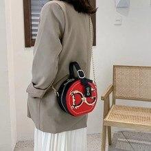2021 new luxury brand handbag, women's Rivet shoulder strap