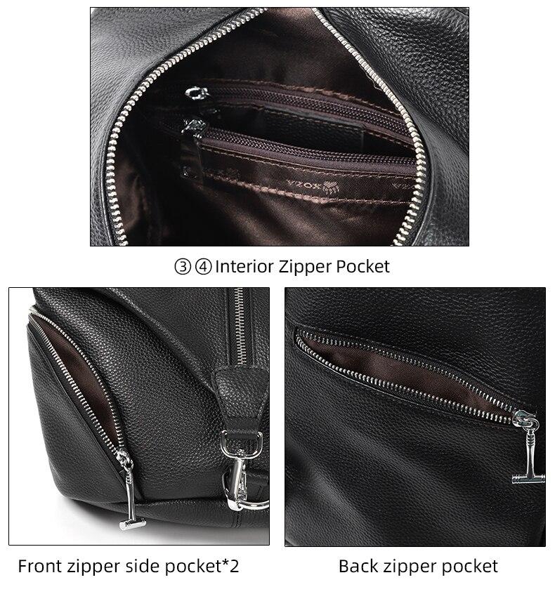 escola anti-roubo para meninas adolescentes couro genuíno casual shouder viagem packbag
