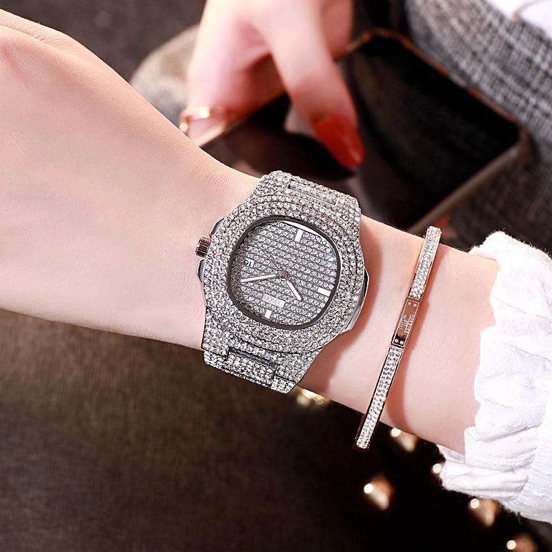 LOLIA Luxury Women Bracelet Watch Fashion Crystal Quartz WristWatches Womens Watches Dress Ladies Watch Clock Reloj Mujer