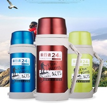 Large Capacity Stainless Steel Insulated Mug Outdoor Sport Travel Thermo Mug Portable Vacuum Flasks Thermoses Bottle Cup stainless steel thermoes vacuum flasks insulation mug cup fashion popular mug travel thermoses coffee and lovers cups 320ml