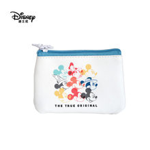 Disney's Authentic Mickey's 90th Anniversary Fashion Creative Multifunctional Storage Bag Coin Purse Spot Wholesale Custom(China)
