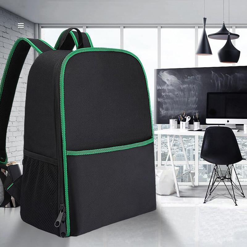 Multi-Function Shoulder Kit Waterproof Tool Backpack Wear-Resistant Polyester Cloth Repair Tool Storage Bag Full Open Tool Kit