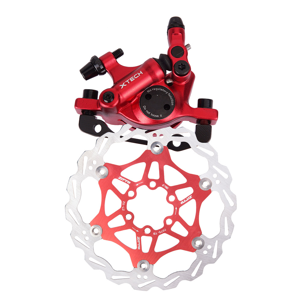 MTB Road Bike Line Pulling Hydraulic Disc Brake Calipers Front Rear 3