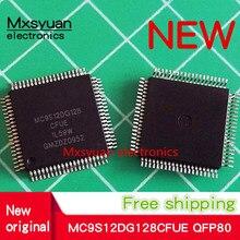 Plateau PQFP, 2 à 10 pièces/lot, MCU 16 bits HCS12 ciss 128KB Flash 2.5V/5V 80 broches