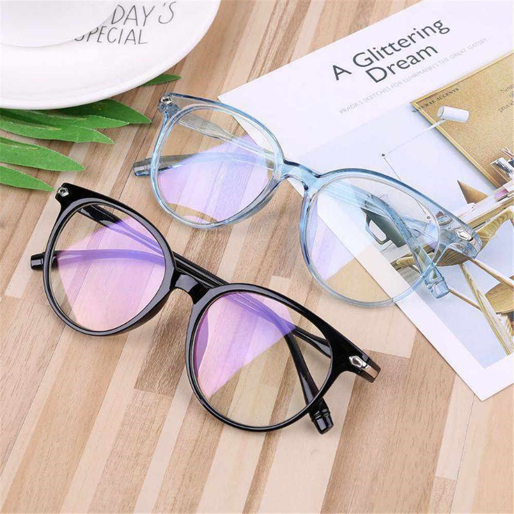 Unisex Optik Kacamata Anti-Blue Light Kacamata Ultra Ringan Resin Komputer Kacamata Fashion Fleksibel Portabel Membaca Kacamata