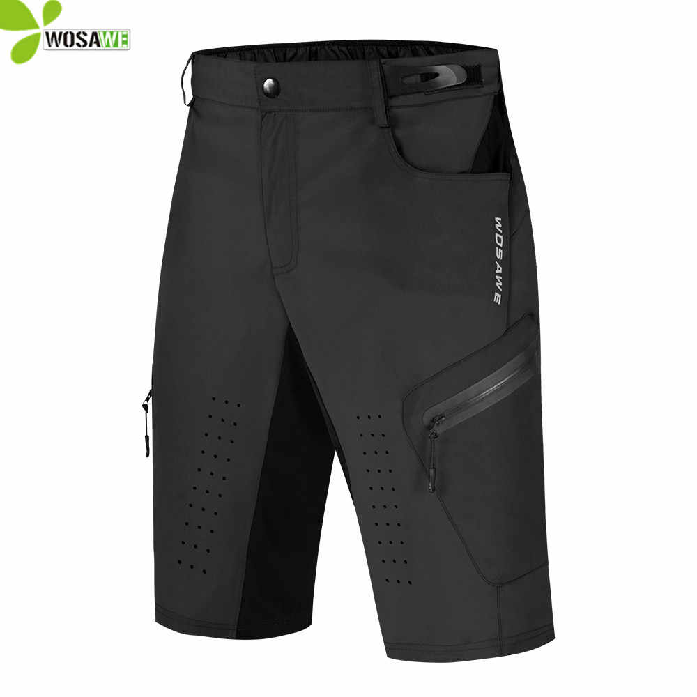 MTB cycling shorts men offroad bicycle Downhill ZA Men/'s shorts Mountain