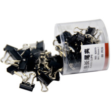 60 pcs/lot Mini Metal Paper Clips 15mm black  Clip for Book Stationery School Office Supplies High Quality
