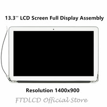 "FTDLCD 13.3"" Full LCD Assembly Complete Screen Display For Macbook Air A1466 Early 2015 Mid 2013 EMC 3178 Mid 2017"